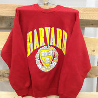 Vintage College Sweatshirt- Harvard