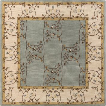 Surya Caesar CAE1100 Green/Neutral Arts and Crafts Area Rug