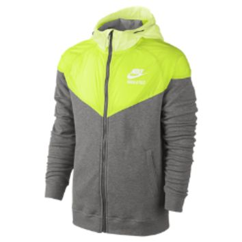 Nike Track and Field Woven Mix Full-Zip Men's Hoodie