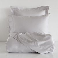 GRAY SATIN BED LINEN - Bedding - Bedroom | Zara Home United States of America