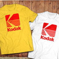 Kodak logo T-Shirt, Photographer, camera Tee, vintage retro Photography