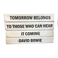 """Tomorrow Belongs ... "" Decorative Book Set"