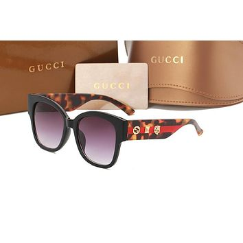 Gucci sunglass AA Classic Aviator Sunglasses, Polarized, 100% UV protection 2974244961 GG0059