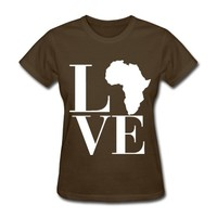 Love Africa -SimplyDope T-Shirt | Spreadshirt | ID: 11781584