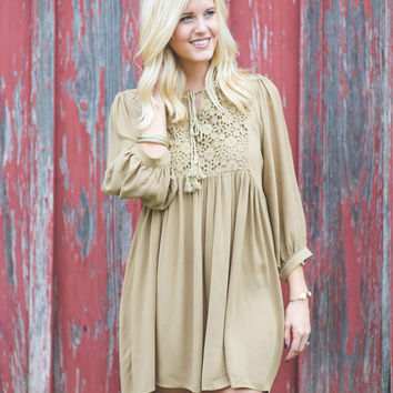 Leaves & Lace Dress