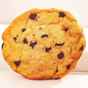 Cool Food Shaped Pillows!  Great Gift Item.  Cookie.