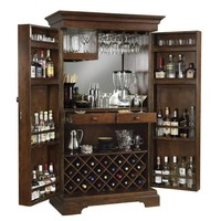 Howard Miller Sonoma Hide A Bar Liquor Cabinet