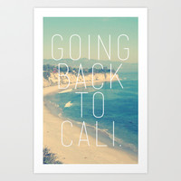 Going Back to Cali Art Print by RexLambo