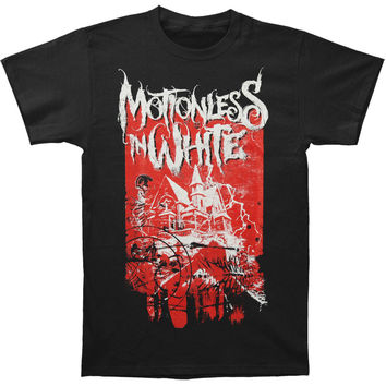 Motionless In White Men's  House T-shirt Black Rockabilia