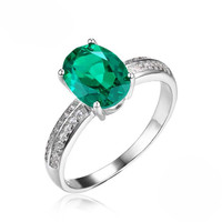 Loyal heart, Emerald Ring
