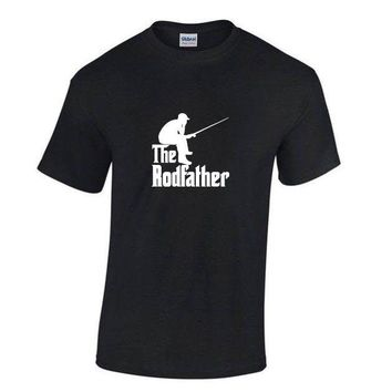 The Rodfather T-Shirts - Men's Crew Neck Top Tees