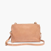 THE TWIN-POUCH CROSSBODY BAG IN DRIED ROSE