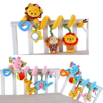 0-24Month Carton Animals Baby Bed Bumper In The Crib Cot Soft Baby Bedding Set Bed Around For Children Kids Colorful Crib Bumper