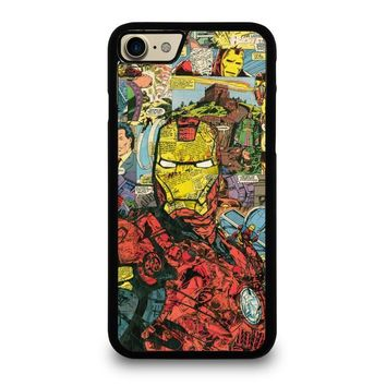 iron man comic collage case for iphone ipod samsung galaxy  number 1