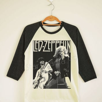 Led Zeppelin Shirt Led Zeppelin TShirt Heavy Metal Shirt Hard Rock TShirt Long Sleeve Women TShirt Unisex TShirt Baseball TShirt Size S,M,L