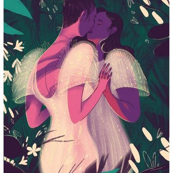 Ang Panaad (The Vow), an art print by Alexa Sharpe