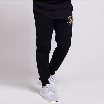 Men's Silk Casual Sweatpants