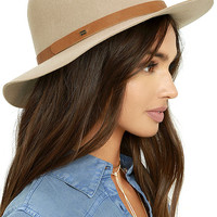 Billabong Better Over Here Light Taupe Fedora Hat