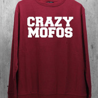Crazy Mofos Shirt Niall Horan One Direction 1D Maroon Shirt Sweatshirt Sweater Hoodie Hoodies Unisex