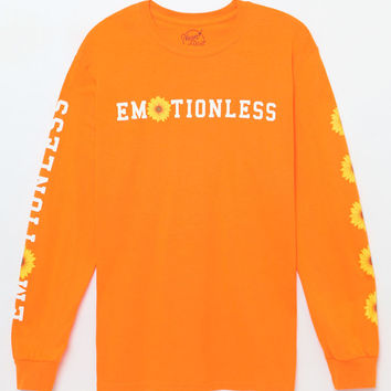 Emotionless Long Sleeve T-Shirt - orange | PacSun