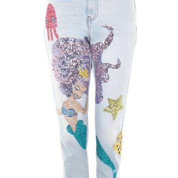 MOTO Mermaid Mom Jeans