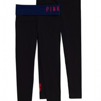 Cleveland Indians Yoga Legging - PINK - Victoria's Secret