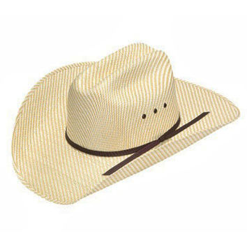 Ariat Youth Two Tone Straw Cowboy Hat