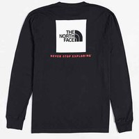 The North Face Red Box Long-Sleeve Tee