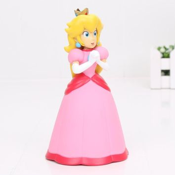 Super Mario party nes switch 14cm  Bros Princess Peach PVC Action Figure Model Toy Doll AT_80_8