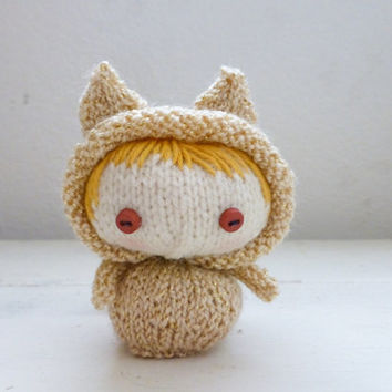 Knitted Amigurumi Cat Pattern : Shop Amigurumi Cat on Wanelo