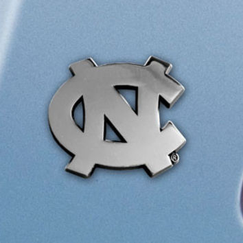 "UNC University of North Carolina emblem 2.6""x3.2"""