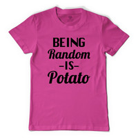 Being Random Is Potato Men's T-shirt