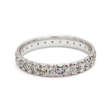 Anna Sheffield Attelage Pavé Grey Diamond Ring (Nordstrom Exclusive) | Nordstrom