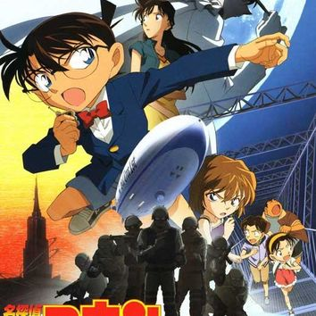 Detective Conan: The Lost Ship in the Sky (Japanese) 27x40 Movie Poster (2010)