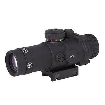 Firefield 1x30 Combat Tactical Red or Green Dot Riflescope Sight (FF13026)