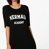 Isla Mermaid Academy Night Dress | Boohoo