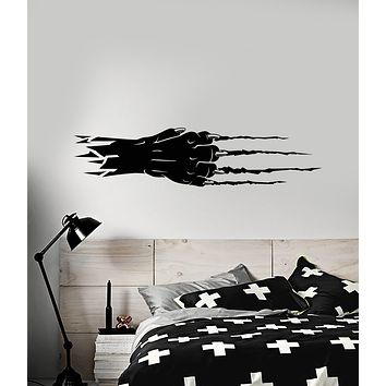 Vinyl Wall Decal Abstract Leopard Lapa Predator Claws Stickers (3200ig)