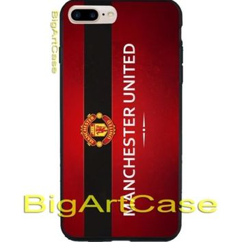 New Man Utd Manchester United Red CASE COVER iPhone 6s/6s+7/7+8/8+,X and Samsung