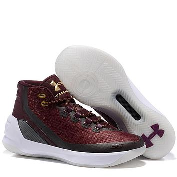 Trendsetter Under Armour Curry3  Women Men Fashion Casual Sneakers Sport Shoes