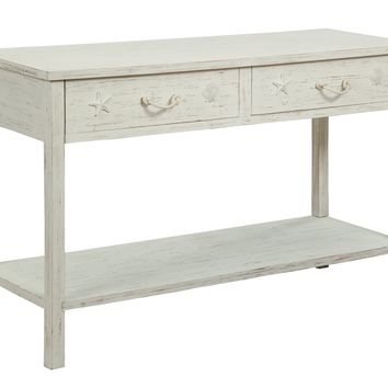Sanibel Two Drawer Console Table