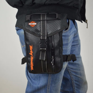 Free shipping 2017 racing riding pack bags shoulder bag KTM Motocross Messenger chest and leg bag HARLEY Knight Tool