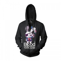 Blood on the Dance Floor Official Store | Blood on the Dance Floor - Blood Bunny Black Hoodie