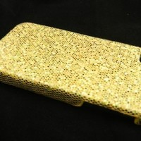 Gold Sparkles Case for Apple iPhone 4, 4S (AT&T, Verizon, Sprint)