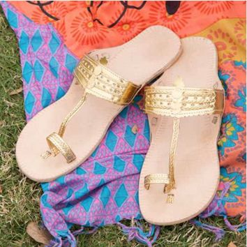Indian Summer Sandals | Size 6-10 Available