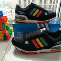 """Adidas 750"" Unisex Sport Casual Multicolor Stripe Sneakers Couple Running Shoes"