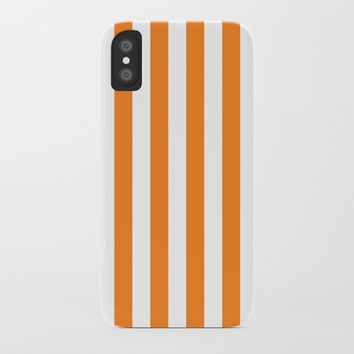 Vertical Orange Stripes by CoolFunAwesomeTime