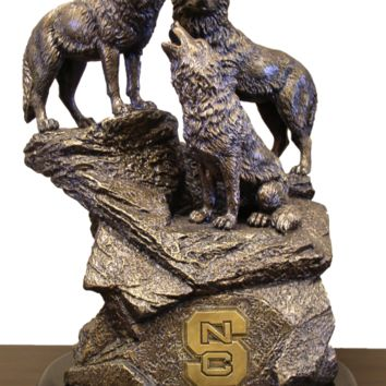 NCAA NC STATE Tim Wolfe Sculpture College - NC State