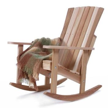 All Things Cedar Athena Red Cedar Rocking Chair