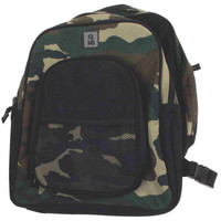 Dual Camo Shoulder Monkey Bags Medium Backpack Tote NEW Camouflage 24006 Sturdy