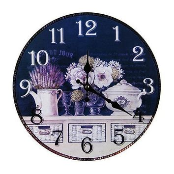 Vintage Antique Style Home Retro Wall Clock